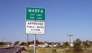 Marfa - Approved Public Water System